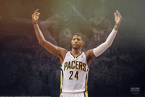 Paul George wallpaper by RafaelVicenteDesigns