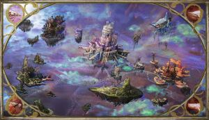 Sky World Map by s-mcmurchy