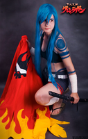 Heart on my back - fem!Kamina cosplay by Wilkoak