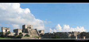 Mayan City of Tulum by picworth1000wrds