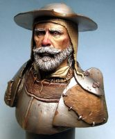 don quichotte bust by sculptart31