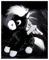 Disney Store - Fantasia Black Baby Pegasus by The-Toy-Chest