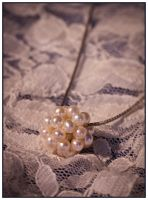 Contemporary Pearl Ball Cluster Pendant by Sarahorsomeone