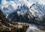 Mountains by Anamicheal