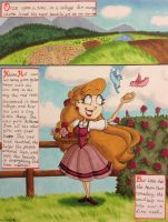 Kleine Rot and the Wolf Page 1 by GabiSaKuRa