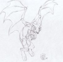 .:Gargoyle:. by Midnight-The-Cat