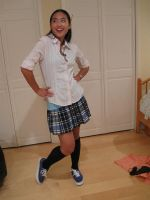 Private School  Girl 12 by imagine-stock