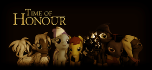Time of Honour (Ponies Edition Wallpaper) by Snowflake393