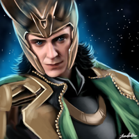 Loki Speedpaint by sugarpoultry