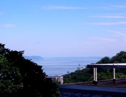 The Palisades and Hudson River in Yonkers, NY by Bizee1