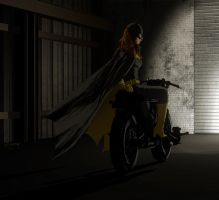 Batcyclist by clayrodery