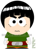 Rock Lee's Goin to South Park by Dosu