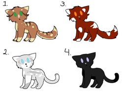 Adoptables by maracat0901