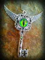 Dragon of Earth Fantasy Key by ArtByStarlaMoore