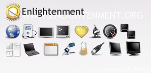 Enlightenment icons by lpetkov