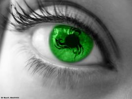 Green eye by Blacksheep5555