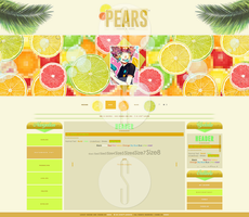 Pears - Full Page - So Cute! Layouts by MokuImvu
