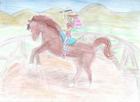 Ruby Law: Magical Cowgirl by Shadowed-Serenity
