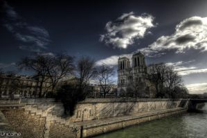 Cathedrale de Paris by Unicorne