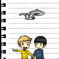 K/S: This way, Spock! by xCheckmate