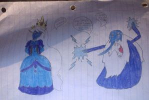 ICE KING AND ICE QUEEN by Cyndaquil24