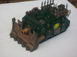 Chaos Vindicator by Created-By-Caz