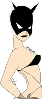 Catwoman - Fishnet by Kim-Possible333