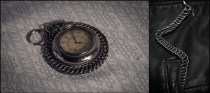 HP 4-1 pocket watch chain by Grall19