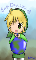 Go Green for Earth Day by Konendo