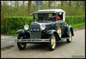 1930 Ford Model A by compaan-art