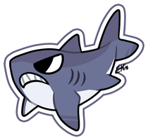 Shark of the Day #4 (final) by OEmilyThePenguinO