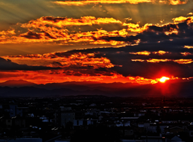 Winter Solstice Sunset -1- by IoannisCleary