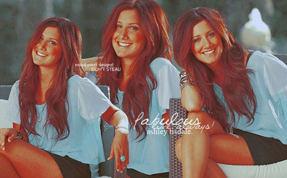 Ashley Tisdale by mixed-prints