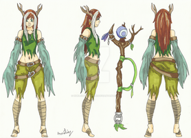 Project of Cosplay - Druidess by Hurlespoir-Amelie