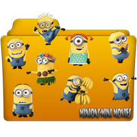 Minions-Mini Movies Folder Icon by gterritory