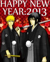 Happy New Year 2013: SanuNaru Version by romizoh373
