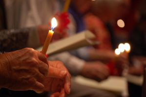 Moravian Candlelight Service by ruby-sting