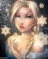 :: Elsa: Frozen Tears :: by Sangrde