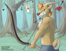 [Anthro Studs Calender]  February 2015 by Ulario