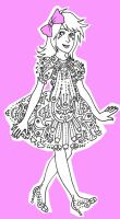 Frilly Dress by Hanna-Pirita