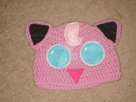 Jigglypuff Hat by Planet-Alchemy