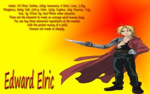 Edward Elric Wallpaper by KakashiSensei24