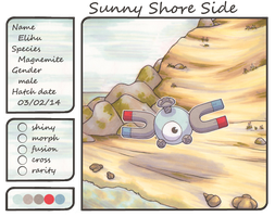 Elihu the Magnemite by Yakalentos