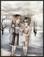 The Baudelaire Orphans by greendesire
