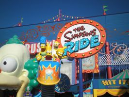 OV US26 The Simpsons Ride by TaRtOoN-Man94