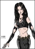 X-23 Laura Kinney by Relugus