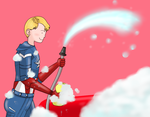 Coulson's car 'Lola' and Steve: Car wash by ice-cream-skies