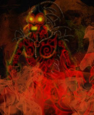 Hell study part 2: the Blazes by Popuche