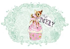 Cake deer?  -version2 by tabithaemma