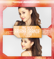 09 - Ariana Grande - PNG Pack by cecniwal